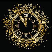 NYE clock images